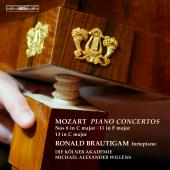 Album artwork for Mozart: Piano Concertos Nos. 8, 11 & 13