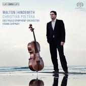 Album artwork for Cello Concertos by Walton & Hindemith / Poltera