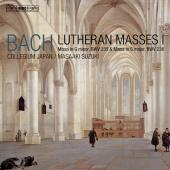Album artwork for BACH: LUTHERAN MASSES 1