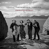 Album artwork for Grieg, Thommessen & Sibelius: String Quartets