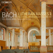 Album artwork for J.S. Bach: Lutheran Masses II