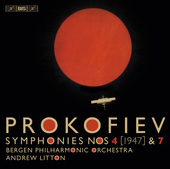 Album artwork for Prokofiev: Symphonies Nos. 4 & 7 / Litton