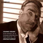 Album artwork for Brahms: Piano Works / Plowright