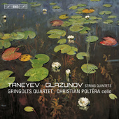 Album artwork for Taneyev & Glazunov: String Quintets