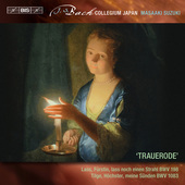 Album artwork for J.S. Bach: Trauerode / Suzuki