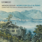 Album artwork for Mendelssohn: Works for Cello & Piano