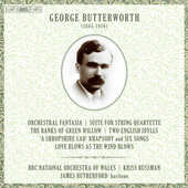 Album artwork for Butterworth: Orchestral Works & Works for Voice &
