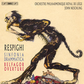 Album artwork for Respighi: Sinfonia drammatica, P. 102 & Belfagor O