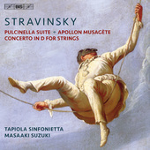 Album artwork for Stravinsky: Pulcinella Suite, Apollon musagète &
