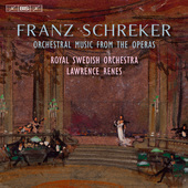 Album artwork for Schreker: Orchestral Music from the Operas