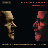 Album artwork for Pettersson: Symphony No. 14