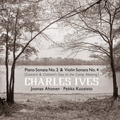 Album artwork for Ives: Piano Sonata No. 2 & Violin Sonata No. 4