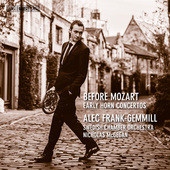 Album artwork for Before Mozart: Early Horn Concertos