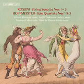 Album artwork for Rossini: Sonatas for Strings Nos. 1-3 - Hoffmeiste