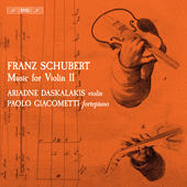 Album artwork for Franz Schubert: Music for Violin, Vol. 2