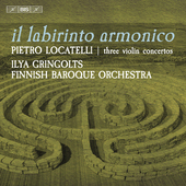 Album artwork for Locatelli: Il labirinto armonico