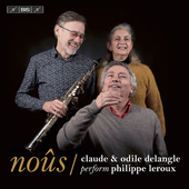 Album artwork for Noûs - Claude & Odile Delangle perform Philippe L