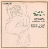Album artwork for Hidden Treasure: Hans Gál's unpublished Lieder