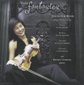 Album artwork for VIOLIN FANTASIES / Jennifer Koh