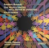 Album artwork for Rzewski: The People United - for Four Hands