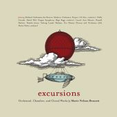 Album artwork for EXCURSIONS: ORCHESTRAL, CHAMBE