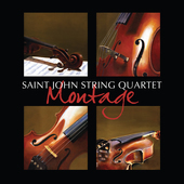 Album artwork for Montage / Saint John String Quartet