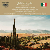 Album artwork for Carillo: Orchestral Works