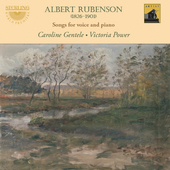 Album artwork for Rubenson: Songs for voice and piano