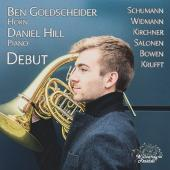 Album artwork for Debut - Works for Horn / Goldscheider