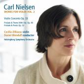Album artwork for Nielsen: Works for Violin, Vol. 2