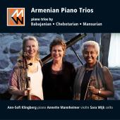 Album artwork for Armenian Piano Trios
