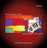 Album artwork for Peter Maxwell Davies: Piano Works 1949-2009