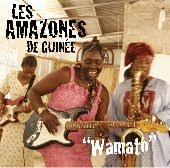Album artwork for WAMATO LES AMAZONES DE GUINEE
