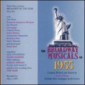 Album artwork for The Broadway Musicals of 1955