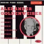 Album artwork for Russia Piano School, Vol.1: Alexander Goldenweiser