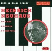 Album artwork for Russian Piano School, Vol.2: Heinrich Neuhaus