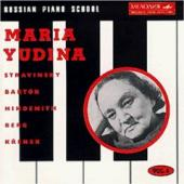 Album artwork for Russian Piano School, Vol.4: Maria Yudina