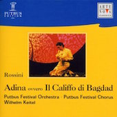 Album artwork for ADINA OVVERO IL CALLIFO DI BAGDAD