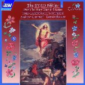 Album artwork for Byrd: MUSIC FOR HOLY WEEK AND EASTER