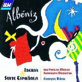 Album artwork for Albeniz: Iberia, Suite Espanola
