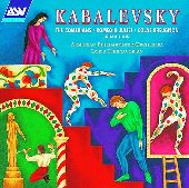 Album artwork for Kabalevsky:Suites