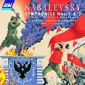 Album artwork for Kabalevsky:  Symphonies 1 & 2