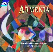 Album artwork for ORCHESTRAL MUSIC OF ARMENIA