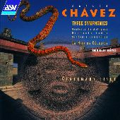 Album artwork for Chavez: Three Symphonies