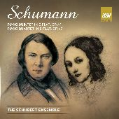 Album artwork for SCHUMANN - PIANO QUINTET IN E FLAT / PIANO QUARTET