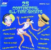 Album artwork for 25 CONTINENTAL ALL-TIME GREATS