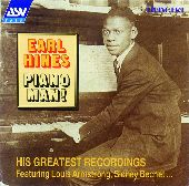 Album artwork for Earl Hines: Piano Man! (His Greatest Recordings 19