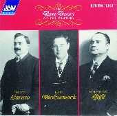 Album artwork for The Three Tenors Of The Century:  Caruso, McCormac