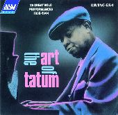 Album artwork for ART OF TATUM 1932-1944, THE