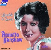Album artwork for Annette Hanshaw:  Loveable And Sweet (25 Vintage H